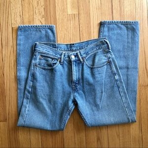 Vintage Levi's 505 straight leg relaxed fit jeans